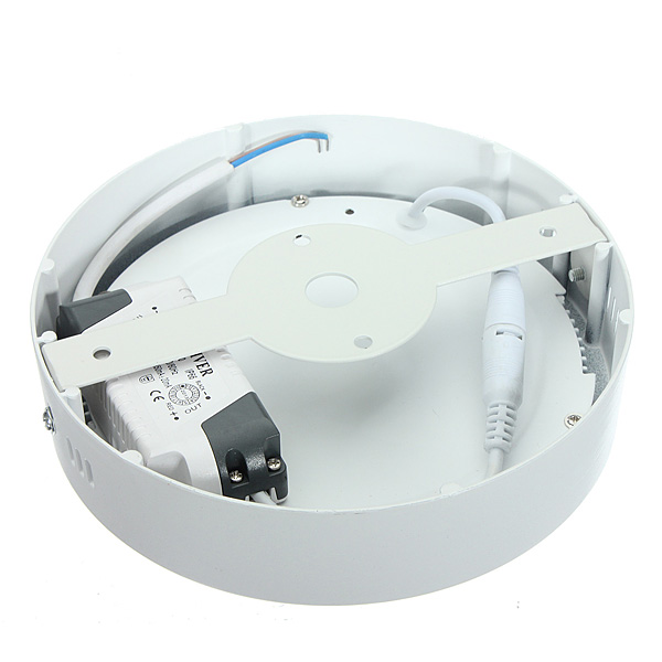 15W Round Dimmable LED Panel Ceiling Down Light Lamp AC 85-265V