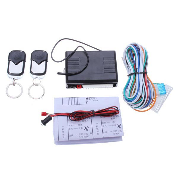 Car Remote Central Locking Conversion Keyless Entry Kit