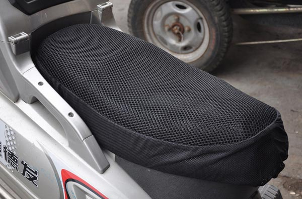 Motorcycle Seat Cover Waterproof Breathable Motorcycle Sun Cushion