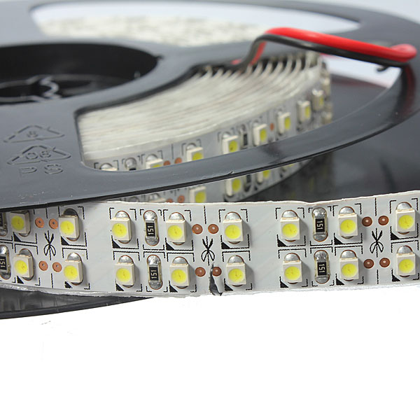5M Double Row Non-waterproof SMD 3528 1200Leds LED Strip Light