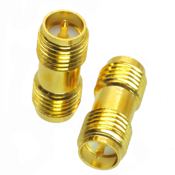rp-sma female to rp-sma female adapter rf connector rp-sma-kk for fpv rc drone title=rp-sma female to rp-sma female adapter rf connector rp-sma-kk for fpv rc drone