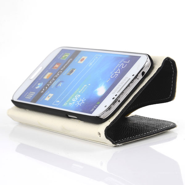 Zipper Corsair PU Leather Protective Case For Samsung Galaxy S4 I9500