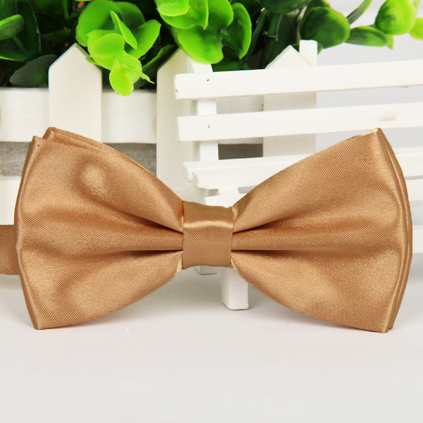 Men's Solid Color Polyester Filament Light Tie