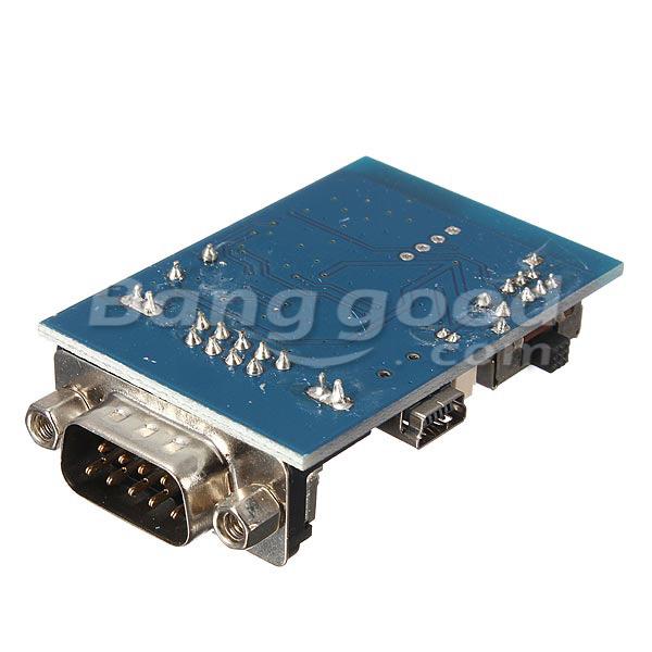 5V RS232 bluetooth Serial Adapter Communication Master Slave 2 Modes