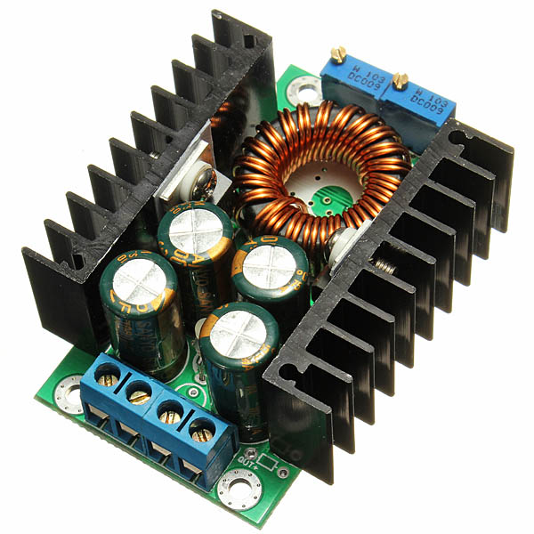 8a 24v to 12v step down led driver adjustable power supply module