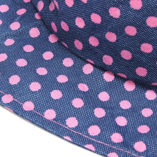 Baby Infant Cotton Flower Dot Summer Bucket Hat Sun Visor Cap