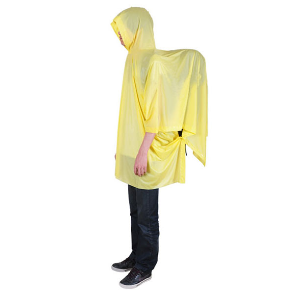 Portable Outdooors Rain Coat Hiking Backpack Camping Conjoined Poncho