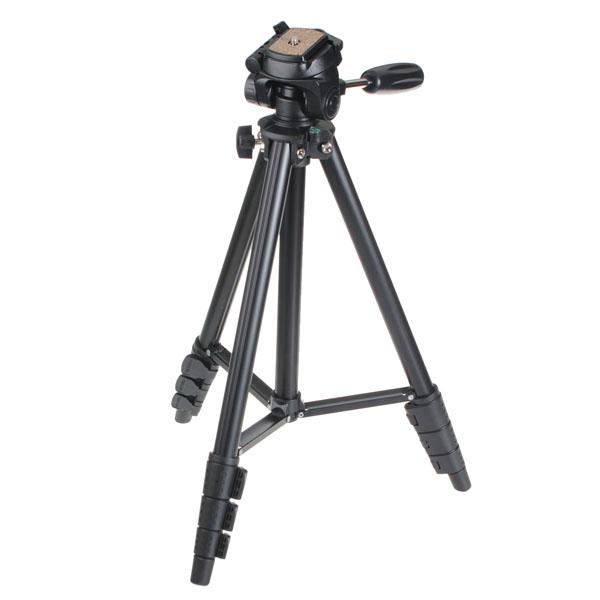 Yunteng VCT-681 Portable Camera Tripod Stand With Porta
