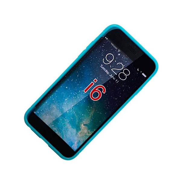 Colorful Honeycomb Soft TPU Gel Protective Case Cover For iPhone 6