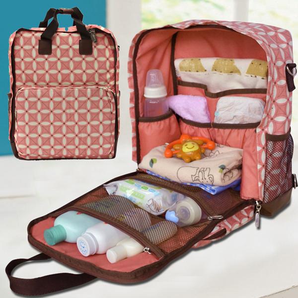Multifunction Baby Mummy Diaper Lady Nappy Handbag Shoulder Bag