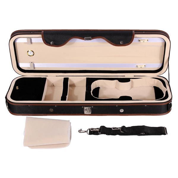 Violion box violin case with humidity table straps locks for Table locks acquired immediately 99