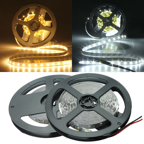 5m white/warm white 5630 smd non-waterproof 300 leds strip light 12v title=5m white/warm white 5630 smd non-waterproof 300 leds strip light 12v