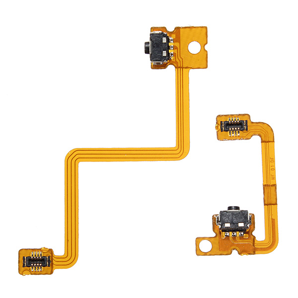 Left Right Shoulder Button with Flex Cable For Nintendo 3DS L/R Switch
