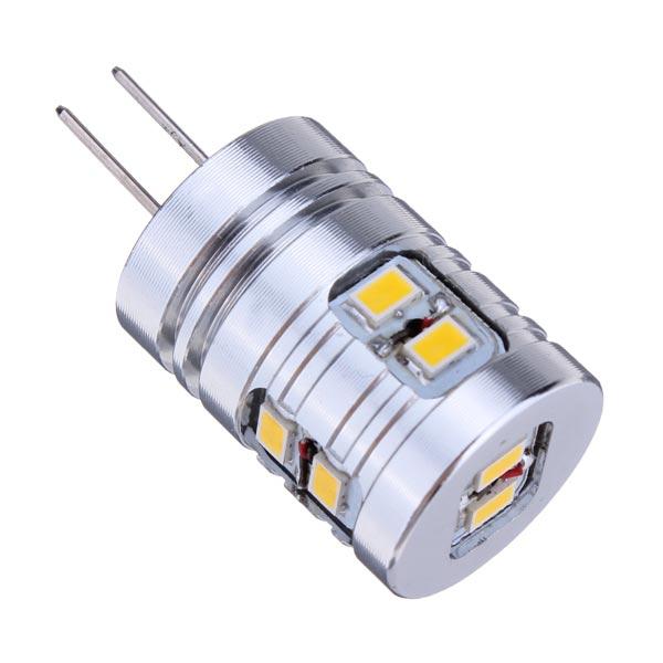 G4 1.7W Warm White/White 10 SMD 3020 12V LED Light Bulb