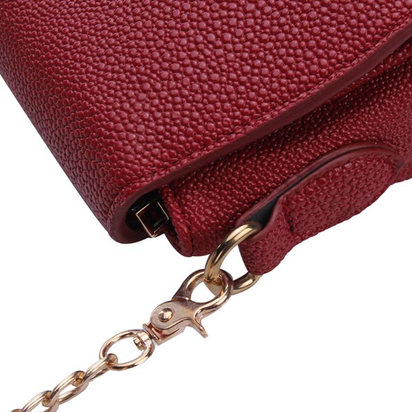 New Korean Fashion Women Bag Pu Leather Chain Cross Body Bag