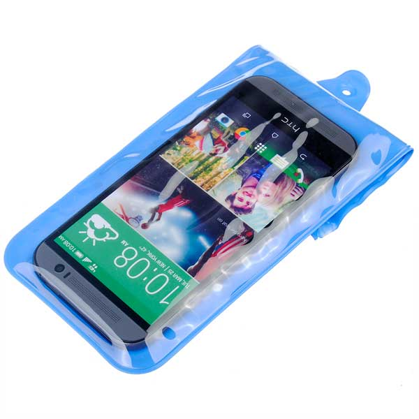 Protable Design Waterproof Bag Cover For iPhone Smartphone Device