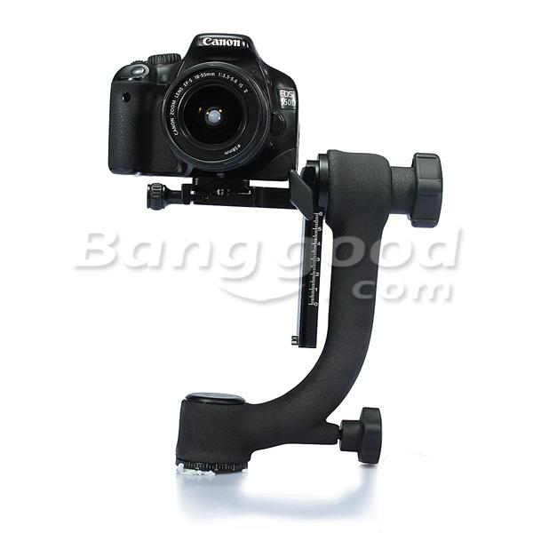 BK-45 Swivel Panoramic Gimbal Tripod Head For Camera Telephoto Lens