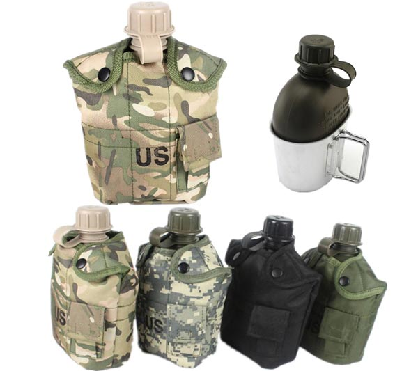 Outdoor Tactical Sports Camping Polymers Portable Kettl