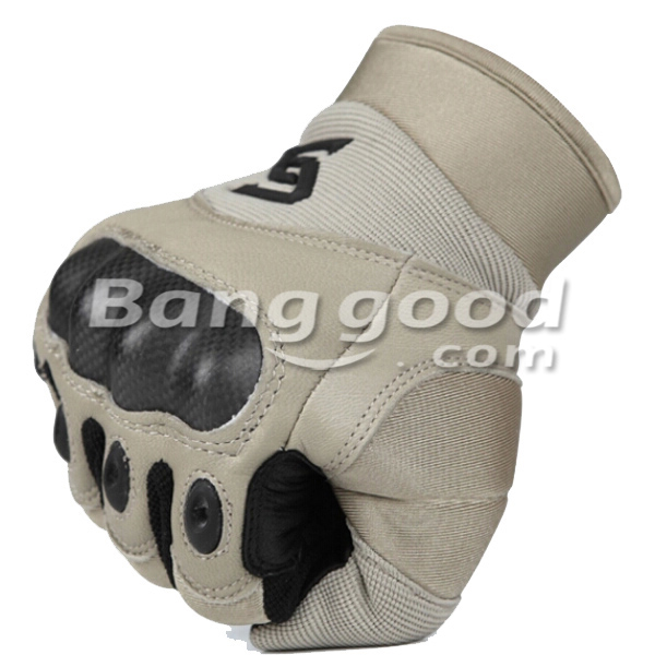 Full Finger Carbon Safety Motorcycle Tactical Gloves
