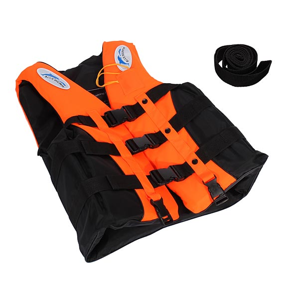 Professional Adult Kid Life Jacket Survival Suit Fishing Vest Jacket