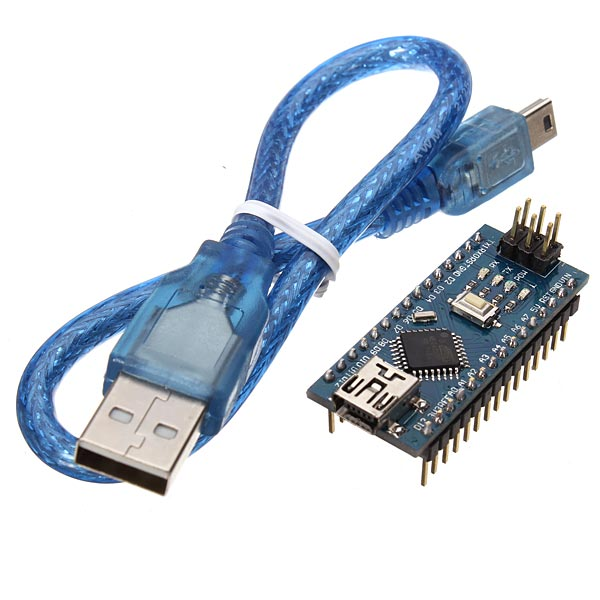 Geekcreit® ATmega328P Arduino Compatible Nano V3 Module Improved Version With USB Cable