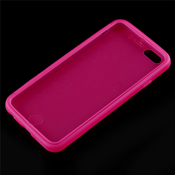 4.7 Inch TPU Scrub With Touch Screen Function Back Case For iPhone 6