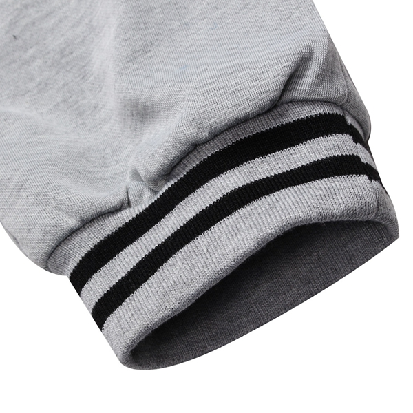 Men's Single Breasted Solid Color Elastic Waist Drawstring Sport Sweatpants Jogger Pants