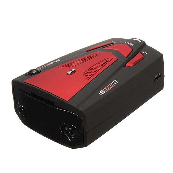 V7 Car Radar Detector Speed Alarm Support Russian English