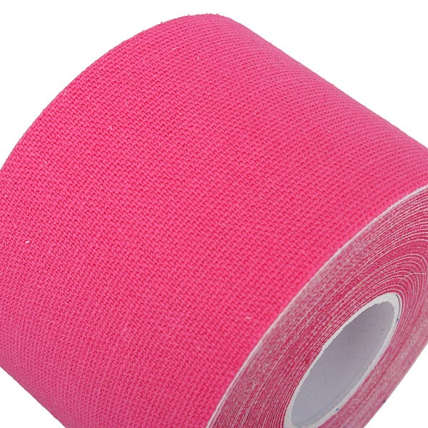2pcs Pink Sports Kinesiology Tape Muscles Care Therapeutic Bandage