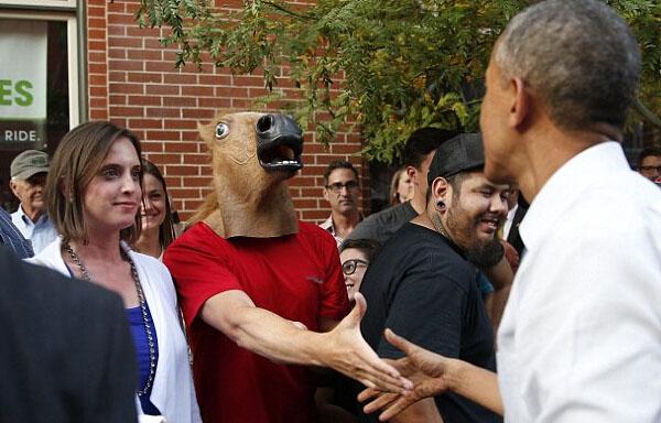 Creepy Horse Head Latex Mask Face Rubber Mask for Halloween Festival