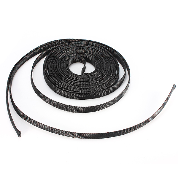 6mm Braided Expandable Auto Wire Cable Sleeving High Density Sheathing