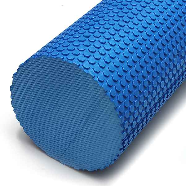 60x14.5cm EVA Yoga Pilates Home Gym Foam Roller Massage Trigger Point