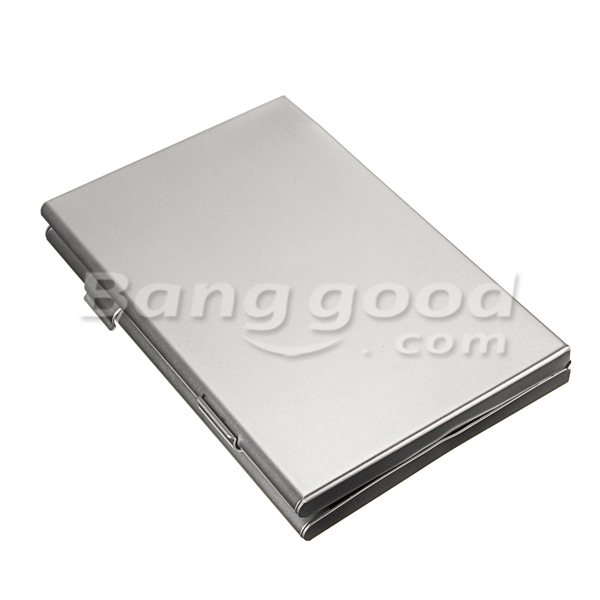 Aluminum Storage Box Protecter Case for Micro SD MMC TF Memory Card