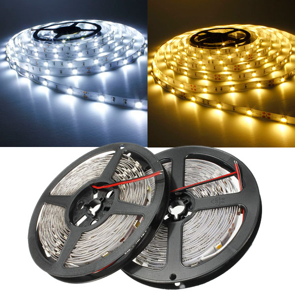 5m smd 5050 non-waterproof 150 led strip light 12v dc