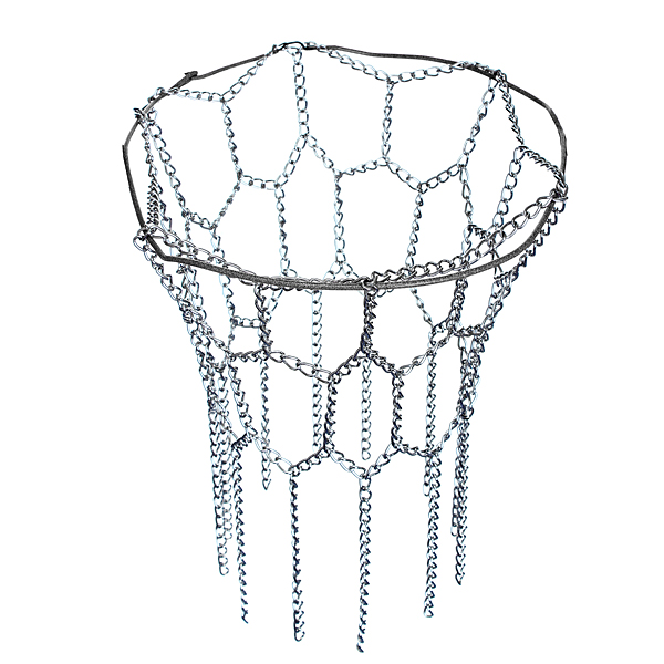 12 Loop Steel Basketball Net Sports Hoop Metal Chain fi