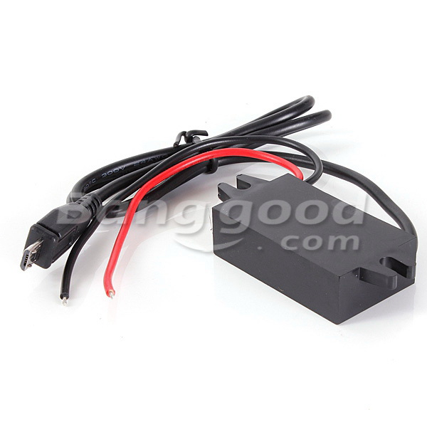 12V To 5V DC DC Converter Module With USB Output Power Adapter 15W