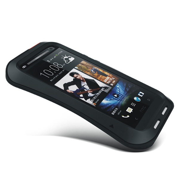 Hot Water/Shockproof Gorilla Glass Aluminum Metal Case For HTC ONE M7