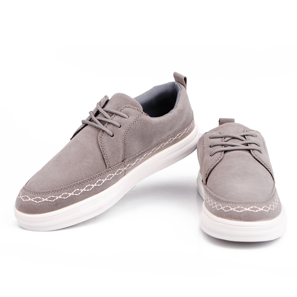 Mens Casual British Style Suede Leather Flats Shoes