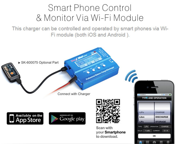 SkyRC iMAX B6 Mini Professional Balance Charger/Discharger SK-100084 for RC Drone FPV Racing Multi Rotor