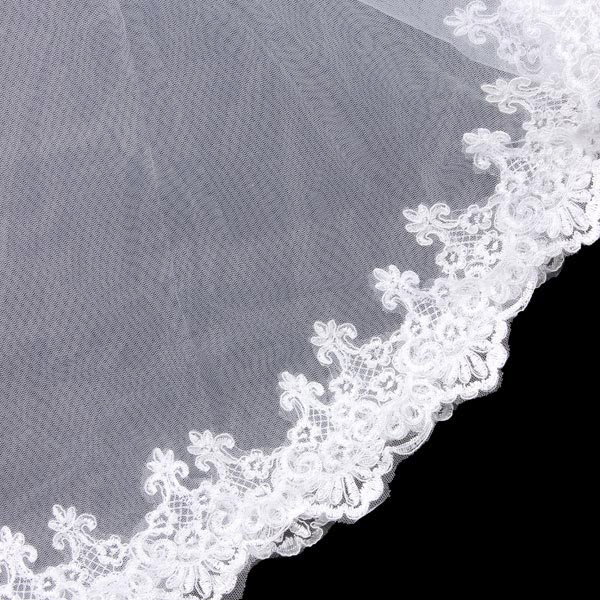1.5M Bridal Soft Mesh Veil Wedding Accessories Marry Supplies