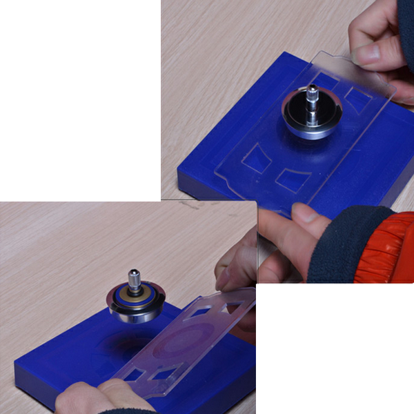 UFO Levitation Spinning Gyroscope Suspension Science Magnetic Toys