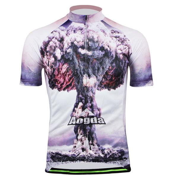 Cycling Suit Bicycle Bike Wear Men Shirt and Shorts Atomic