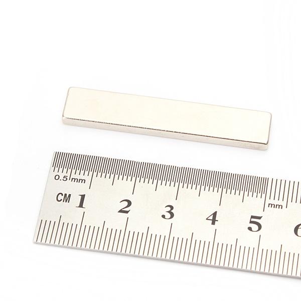 Super Strong Block Magnets Rare Earth Neodymium 50x10x3mm