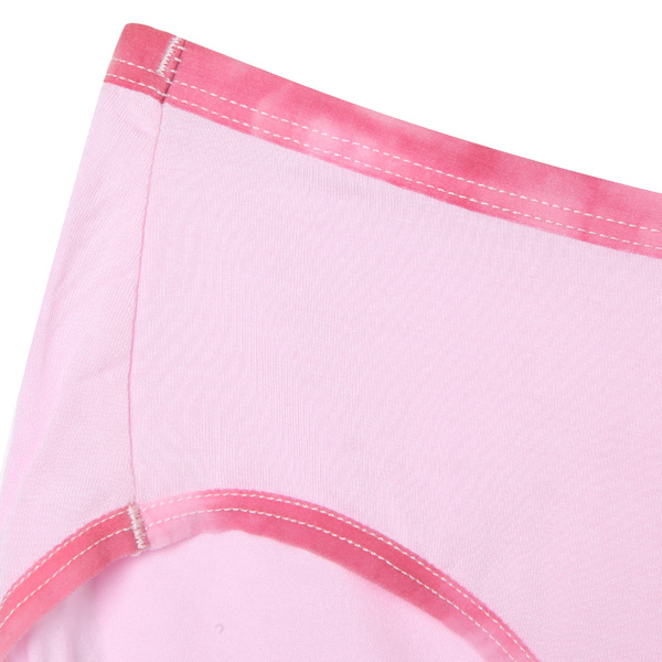 Simple Soft Comfortable Patchwork Pure Cotton Women Panty