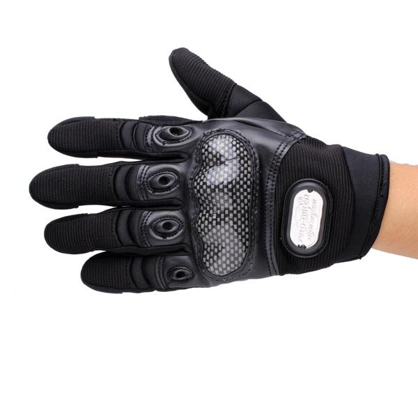 Full Finger Safety Bike Motorcycle Racing Gloves for Pro-biker MCS-12