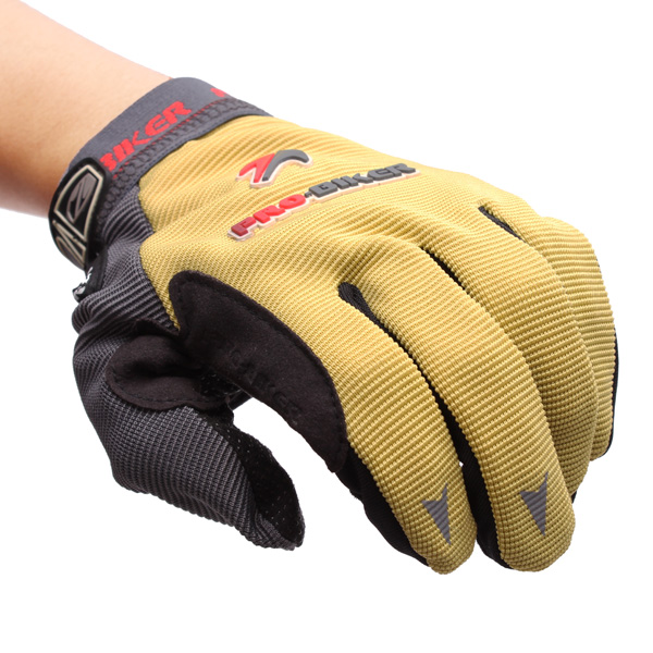 Full Finger Safety Bike Motorcycle Racing Gloves for Pro-biker MTV-02
