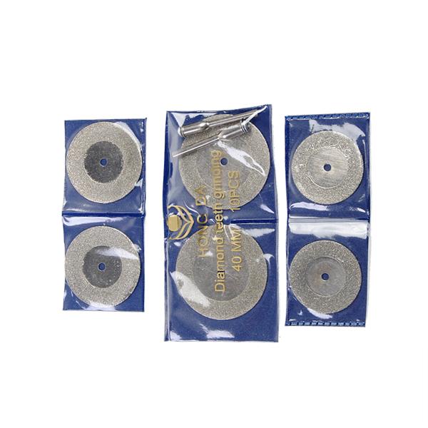 10 Pcs Diamond Grinding Slice Dremel Cutting Discs for Rotary tools