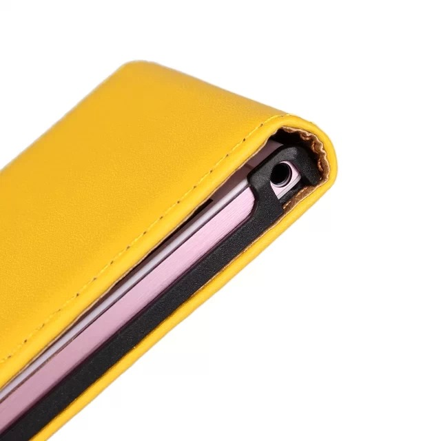 Flip Leather Protective Case Cover for Huawei P6 Smartphone