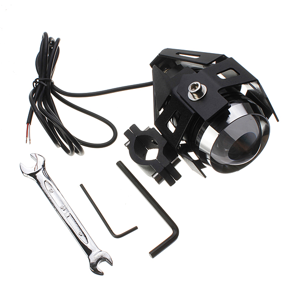 2pcs U5 Motorcycle LED Headlight 3000LM Waterproof Hi/Lo High Power Spot Lightt