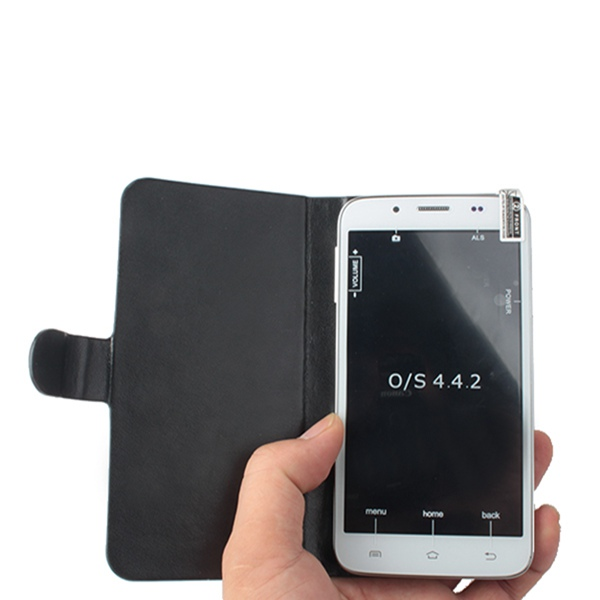 Flip Leather Protective Case Cover for Catee GT400 Smartphone